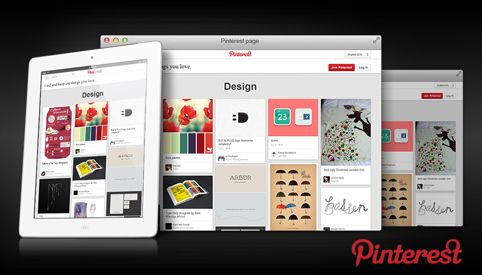 Pinterest Page Design by Efusionworld